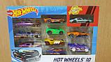Набор Машинки Хот Вилс 10 штук  Hot Wheels Оригинал из США, фото 2