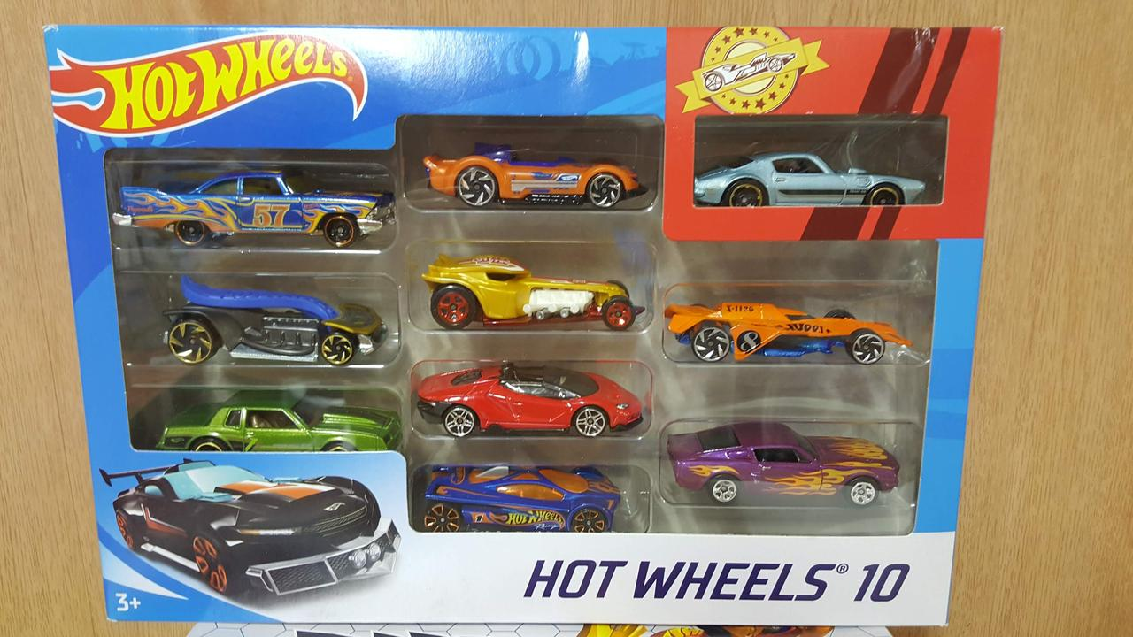 Набор Машинки Хот Вилз 10 штук  Hot Wheels Оригинал из США