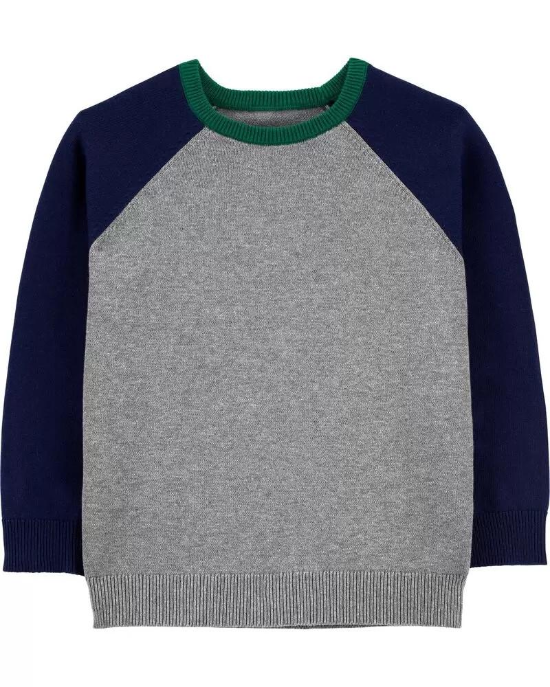 Модний в'язаний светр для хлопчика Картерс
