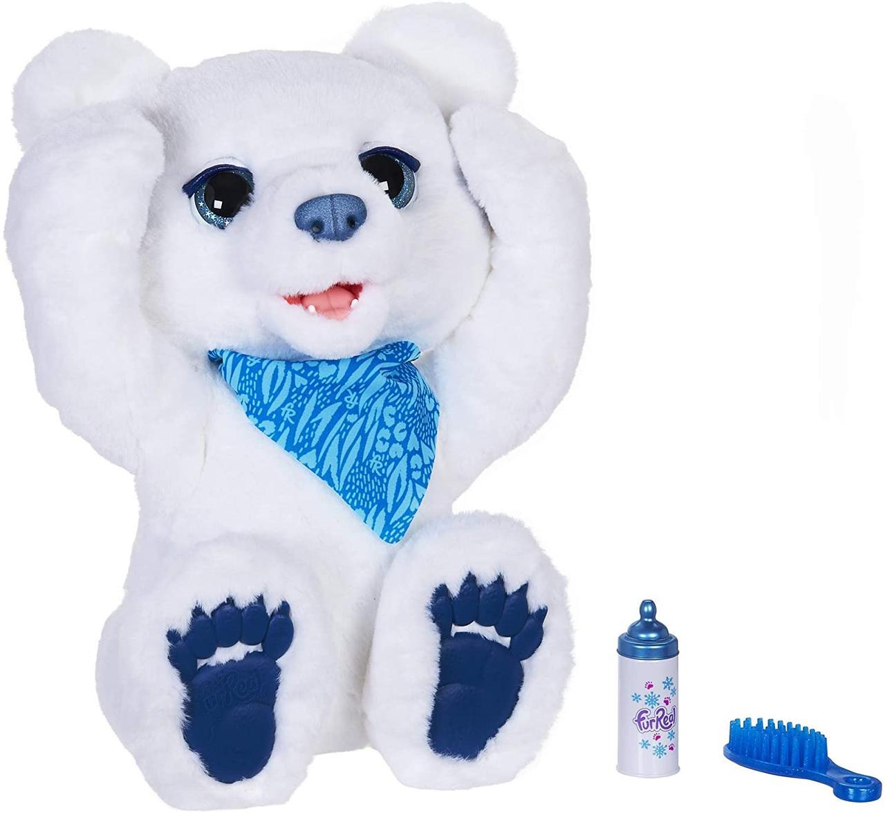 Інтерактивний цікавий мишко, Ведмедик Куббі. FurReal Friends Cubby The Curious Bear