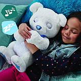 Полярный белый мишка интерактивный FurReal Friends Cubby The Curious Bear, фото 7
