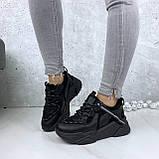 Кроссовки женские черные 212, фото 5