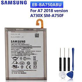 Аккумулятор EB-BA750ABU для Samsung Galaxy A7 2018 SM-A750F, SM-A750 (ёмкость 3300mAh)