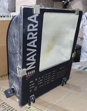 Б/У Прожектор газоразрядный Navarra Lux-NV 400. Navarra 400Вт AS E40 (ДНАТ) (ЖО-400). Прожектор уличный, фото 2