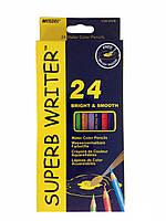 Акварельные цветные карандаши Marco 24 цвета (2451679861)