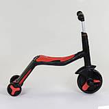 Самокат 3в1 JT 28288 Best Scooter самокат-велобег-велосипед, фото 3