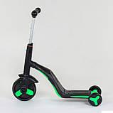 Самокат 3в1 JT 40405 Best Scooter самокат-велобег-велосипед, фото 3