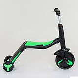 Самокат 3в1 JT 40405 Best Scooter самокат-велобег-велосипед, фото 7
