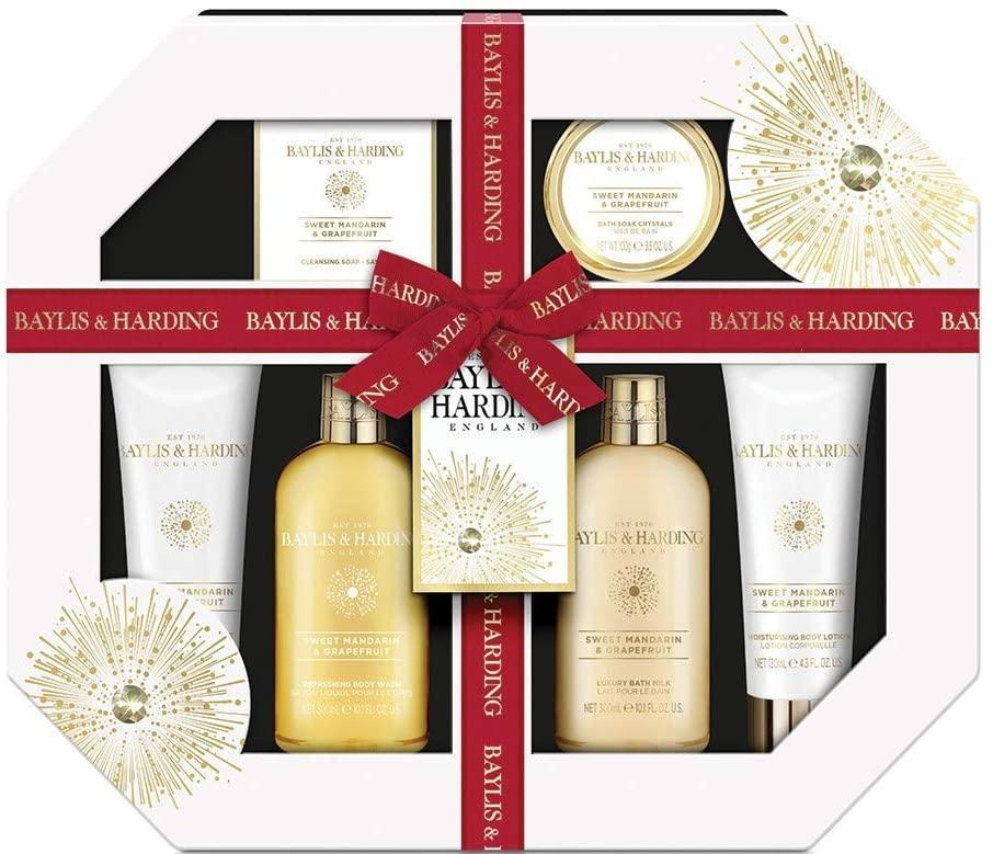 Подарочный набор косметики для ванной Baylis & Harding Sweet Mandarin & Grapefruit Ultimate Bathing Giftset