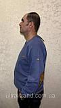 Мужской турецкий свитер свитшот пайта большого размера, фото 5