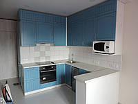 Бирюзовая кухня в английском этно стиле, фото 1