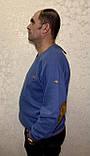 Мужской турецкий свитер свитшот пайта большого размера, фото 3