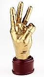 Кубок ET золотой Рука Тризуб (KR94), фото 2