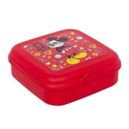 """Ланч бокс """"Міккі Маус"""" Herevin Disney Mickey Mouse 2 сендвіч бокс (15*15*5см) 161456-014, фото 2"""