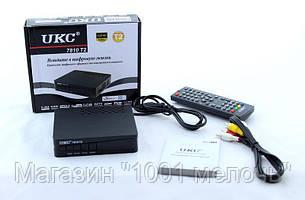 Тюнер DVB-T2 7810 для цифрового телевидения, фото 2