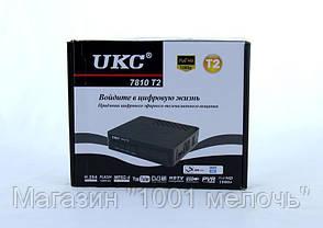 Тюнер DVB-T2 7810 для цифрового телевидения, фото 3