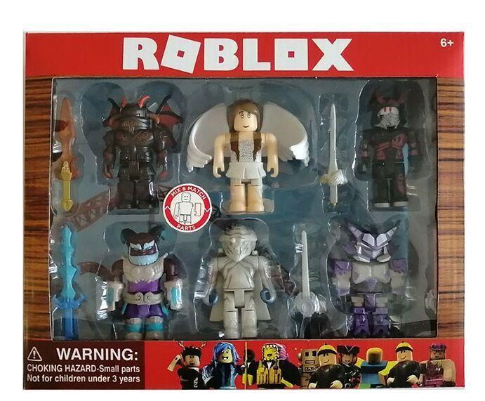 Герои ROBLOX Роблокс 10 фигурок, в коробке P 20030