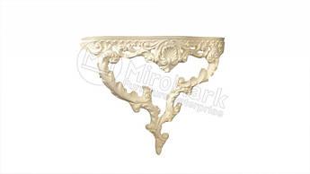 Декоративна консоль Росана, нефарбована