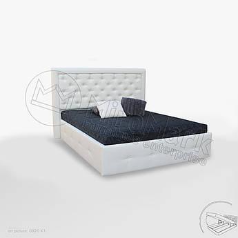 М'яке ліжко Франко 1,6х2,0 Підйомне