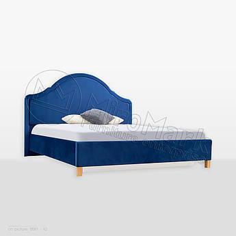 М'яке ліжко Каріна 1,6х2,0 Непідйомне