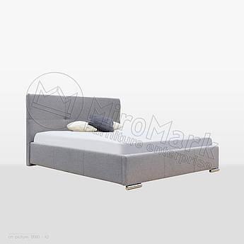 М'яке ліжко Лілу 1,6х2,0 Непідйомне
