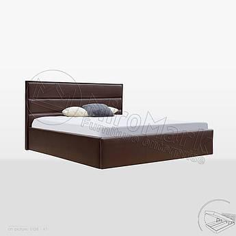 М'яке ліжко Сильвія 1,6х2,0 Підйомне