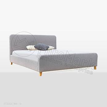 М'яке ліжко Тіна 1,8х2,0 Непідйомне