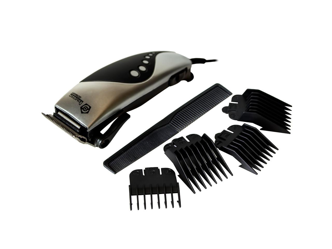 Машинка для стрижки волосся Domotec MS 4609 Чорно-сірий (10897)