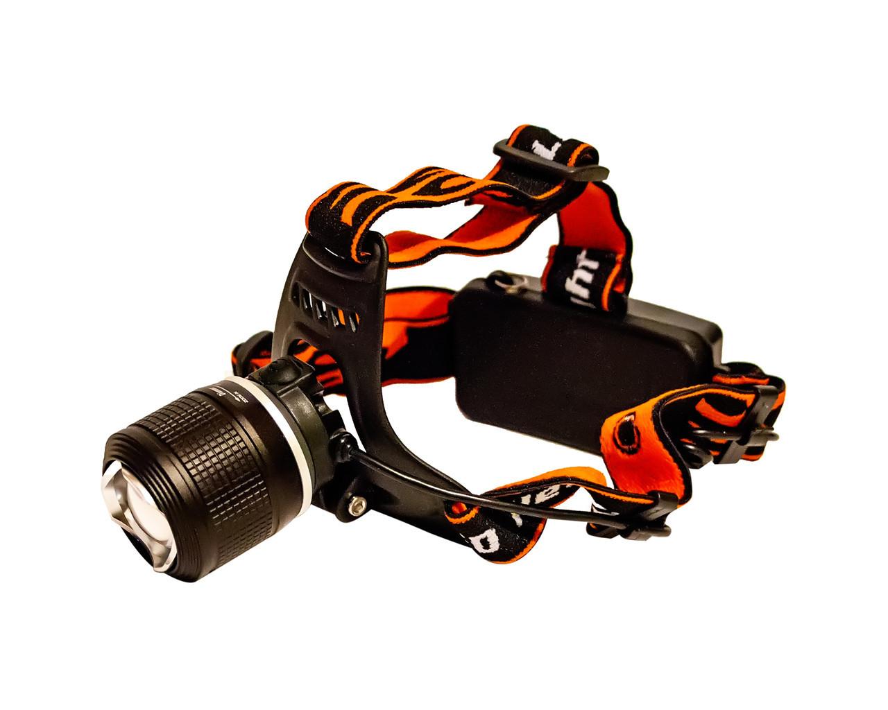 Ліхтар налобний Police BL 2199 1 режим Orange/Black