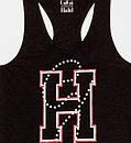 Майка жіноча TOMMY HILFIGER колір чорний розмір S XS арт WW0WW20760 094 XS, XS, фото 2