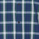 Рубашка мужская TOMMY HILFIGER цвет сине-бело-зеленый размер S арт DM0DM04985-902, фото 5