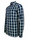 Рубашка мужская TOMMY HILFIGER цвет сине-бело-зеленый размер S арт DM0DM04985-902, фото 6