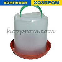 Професійна поїлки для курей на 8 л води з підвісом і регулюванням виливу