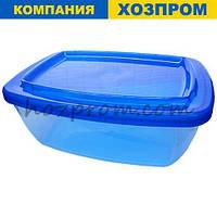 Набір харчових контейнерів 1,5 л,1,0 л і 0,6 л. Судочки для дому, для кухні, пластиковий посуд, оптом