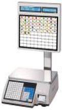 Весы для печати на этикетке CAS CL 5000J-IS (самообслуживание)