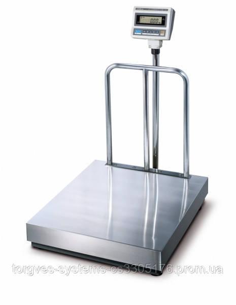 Весы товарные напольные CAS DB II-300 /600 кг(600х700)