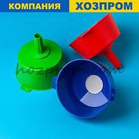 Лійка з фільтром для молока діаметр 20 см і висота 9,5 см з харчового пластику
