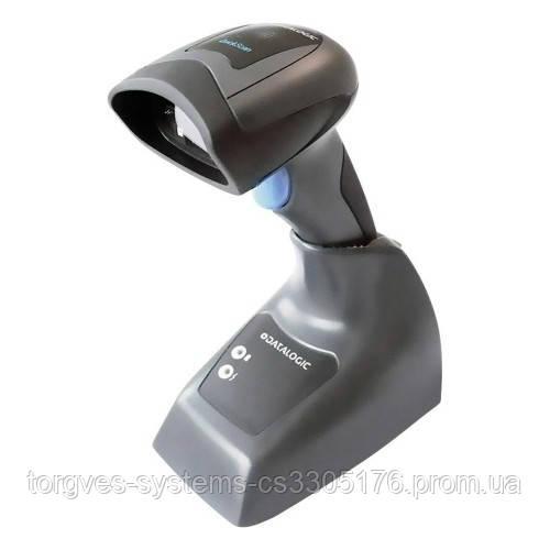 Беспроводной сканер штрих-кода Datalogic QuickScan I QBT2400 2D (с подставкой)