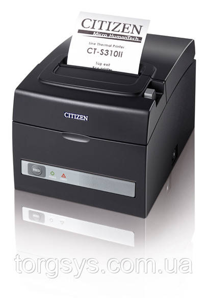 Принтер для друку чеків  на 57/ 80 мм з автообрізчиком Citizen CT-S310II (USB+RS232)