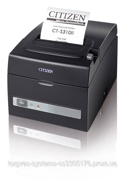 Принтер для печати чеков Citizen CT-S310II (USB+RS232)