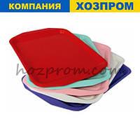 Міцний піднос 360*255. Господарчі товари для будинку, для прибирання, для кухні, пластиковий посуд, рознесення