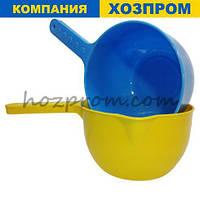 Ківш пластиковий кухонний 1л. Госптовари оптом для будинку, для прибирання, для кухні, пластиковий посуд