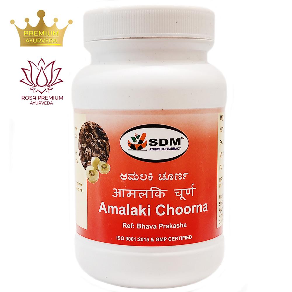 Амалаки чурна (Amalaki Choorna, SDM), 100 грамм - самый богатый природный источник витамина С