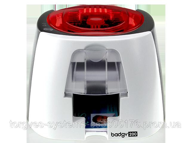 Принтер для печати пластиковых карт Evolis Badgy200 (USB)
