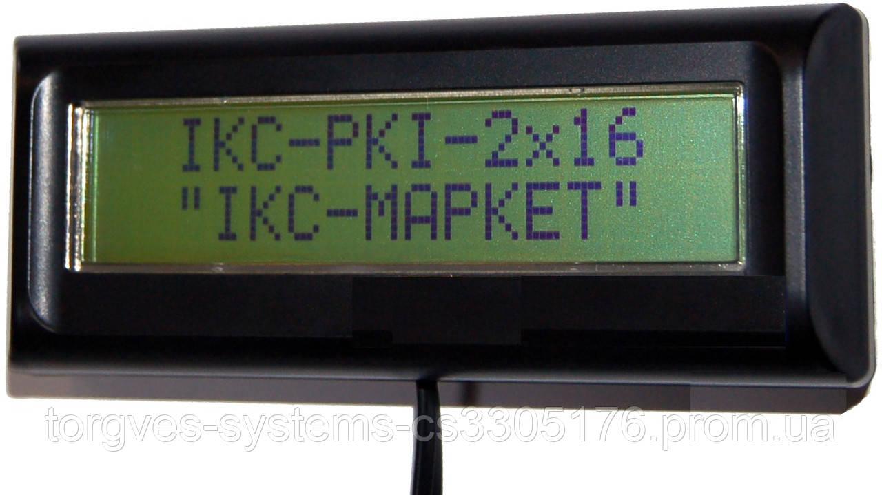 Индикатор клиента  IKC-РКІ-2Х16