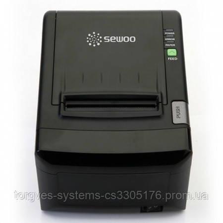 Принтер печати чеков Sewoo SLK-T12 EB ( USB + RS-232 + Ethernet )