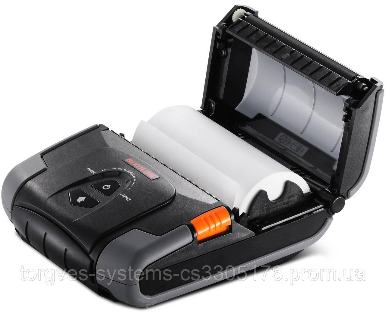 Мобильный принтер чеков-этикеток Bixolon SPP-R400WK (Wi-Fi+USB)