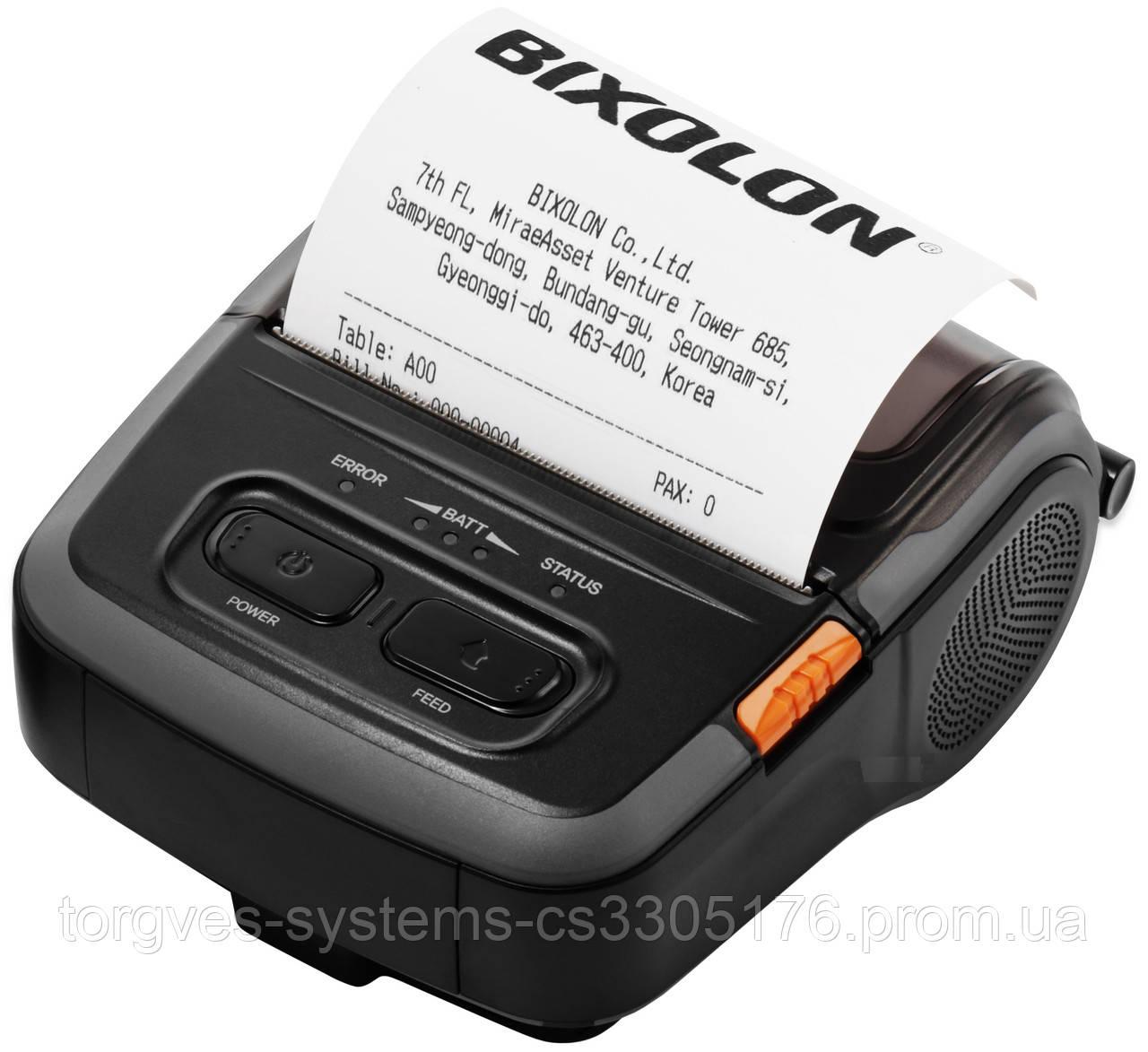 Мобильный принтер чеков-этикеток Bixolon SPP-R310BK (Bluetooth+USB)