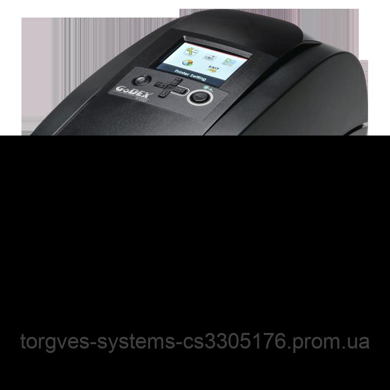 Принтер этикеток GoDEX RT200I (USB+RS-232+Ethernet+USB-хост)