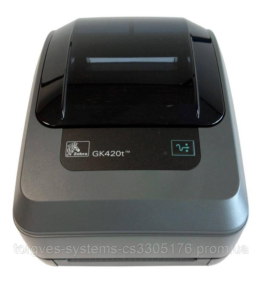 Термотрансферный принтер этикеток Zebra GK420t (GK42-102520-000)